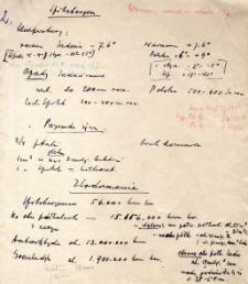 Notatki dotyczące Spitsbergenu i Arktyki