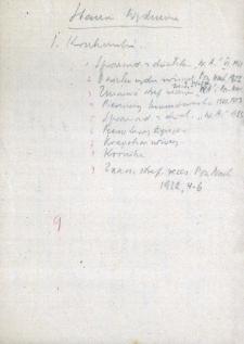 Drobne notatki dotyczące wydm