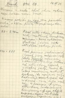Opisy stanowisk geologicznych z woj. białostockiego, 1939 rok