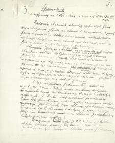 Sprawozdanie z wyprawy na Wołyń i Bug za czas od 18. VII.-20. VIII. 1923 roku