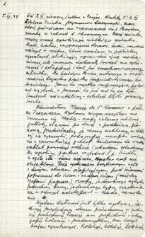 Dziennik z pobytu we Francji. dnia 5. 06.-14. 06. 1949