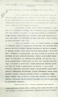 Pogadanka radiowa wygłoszona w radio moskiewskim, 3. 10. 1945