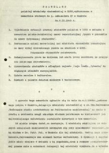 Postulaty polskiej młodzieży akademickiej w ZSRR ... 1945 rok