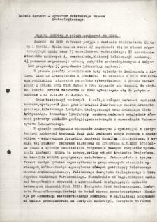 Wyniki podróży w celach naukowych do ZSRR