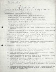 Zestawienie publikacji Ludwika Sawickiego