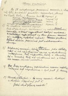 Notatki ogólne na temat muzeów prowincjonalnych m. in. wykaz tych muzeów