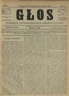 Głos 1890 N.45