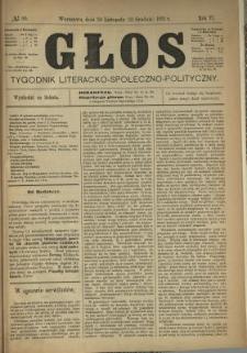 Głos : tygodnik literacko-społeczno-polityczny 1891 N.50