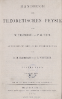Handbuch der theoretischen Physik. Bd. 1, T. 2