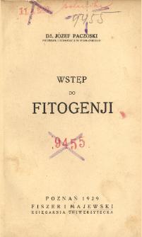 Wstęp do fitogenji