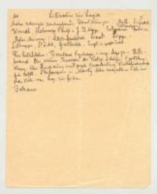 Logik. 2. Streszczenie wykładów Logiki. Kurs zimowy 1898/9