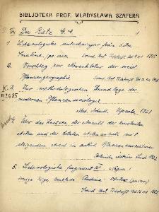 "Kartoteka ""Biblioteka Prof. Władysława Szafera"" : Dur-Ep"