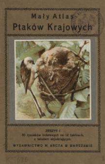Mały atlas ptaków krajowych. Cz. 1