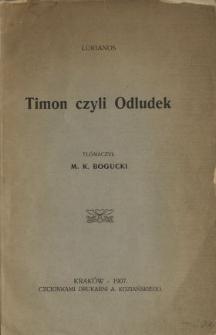 Timon czyli Odludek