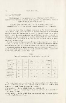 Comparison of digestibility of feedingstuffs with different protein ratios for calves of domestic cattle and of bison, Bison bonasus (L.); Porównanie strawności pasz o różnym stosunku białkowym u cieląt żubra, Bison bonasus (L.) i krowy