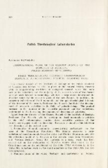 Theriological work of the Cracow Branch of the Institute of Zoology, Polish Academy of Sciences; Prace teriologiczne oddziału krakowskiego Instytutu Zoologicznego Polskiej Akademii Nauk