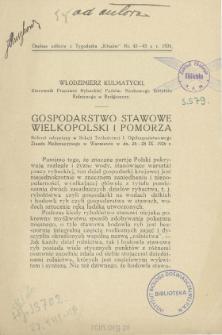 Gospodarstwo stawowe Wielkopolski i Pomorza