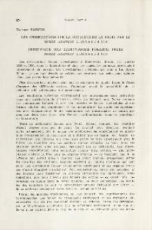 Les observations sur la conqułte de la proie par le Sorex araneus Linnaeus 1758; Obserwacje nad zdobywaniem pokarmu przez Sorex araneus Linnaeus 1758