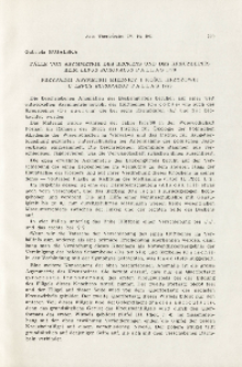 Fälle von Assymmetrie des Beckens und des Kreuzbeines beim Lepus europaeus Pallas 1778; Przypadki asymetrii miednicy i kości krzyżowej u Lepus europaeus Pallas 1778