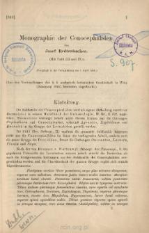 Monographie der Conocephaliden