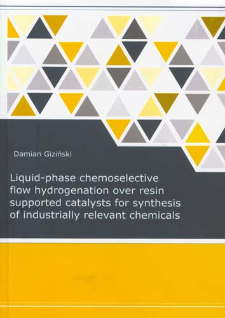 Liquid-phase chemoselective flow hydrogenation over resin supported catalysis for synthesis of industrially relevant chemicals