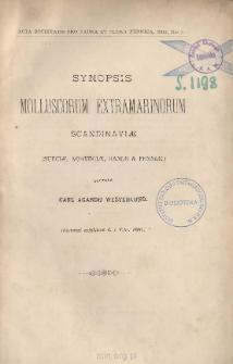 Synopsis Molluscorum Extramarinorum Scandinaviæ: (Sueciæ, Norvegiæ, Daniæ & Fenniæ.)
