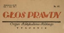 Głos Prawdy 1925 N.87