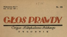 Głos Prawdy 1927 N.195