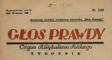 Głos Prawdy 1928 N. 230