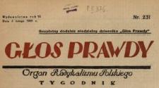 Głos Prawdy 1928 N.231