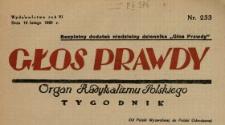 Głos Prawdy 1928 N.233