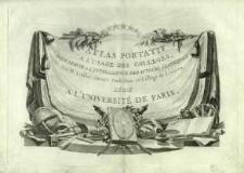 Atlas portatif à l'usage des collèges, pour servir à l'intelligence des auteurs classiques
