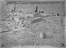 Stanowisko Horodok II : widok odsłoniętej warstwy kulturowej