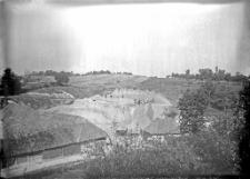 Stanowisko Horodok II : widok ogólny na miejsce rozkopywań 1927