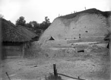 Stanowisko Horodok II : widok ogólny na warstwę kulturową