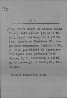 Kartoteka Słownika języka polskiego XVII i 1. połowy XVIII wieku; To3 - Towarzystwo