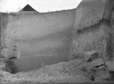 Basów koło Równego : fragment ściany frontowej wschodniej