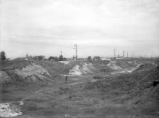 Kraków - Ludwinów : widok na wykop, część południowo-zachodnia (początkowa)