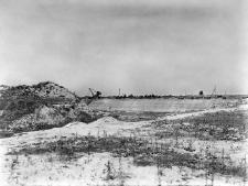 Zielonka koło Warszawy : widok na odkrywkę piasku