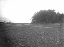 Wieś Wilica, powiat Luboml : droga z krzyżami