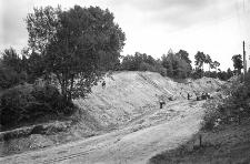 Rumlówka koło Grodna : widok ogólny na żwirownię