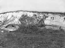 Hrubieszów : widok na wykopy w cegielni