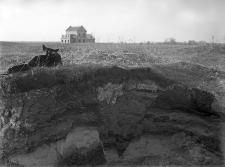 Nowe Koszary (Polesie) : profil odkrywki u podstawy pagórka moreny czołowej