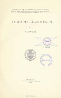 Litauische Cladoceren = Wioślarki litewskie