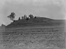 Ruda Damirów, powiat Garwolin : widok na kopiec