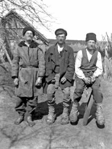 Łubień, gm. mińska, woj. nowogródzkie : typy chłopów