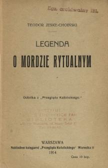 Legenda o mordzie rytualnym