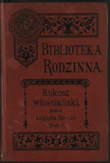 Rokosz włościański : kozacka powieść historyczna z XVI wieku. Cz. 1