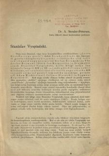 Stanislav Vyspiański