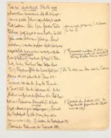 Zasadnicze pojęcia psychofizyki : Lato 98 2 godz.[iny]. Rok akademicki 1897/98, semestr letni